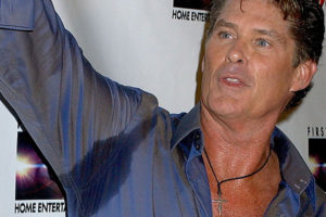 Even the Hoff gets sweat patches! Don't Pack these clothes.