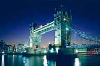 Tower Bridge lit up at night... pretty impressive huh?