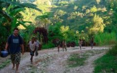 Immersing yourself includes being chased by locals in the jungle...