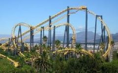 The Cobra coaster ride.