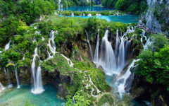 The Waterfalls of the Plivice Lakes
