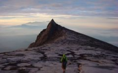 Johnny Ward on Mt Kinabalu